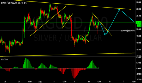XAGUSD: Siliver LONG