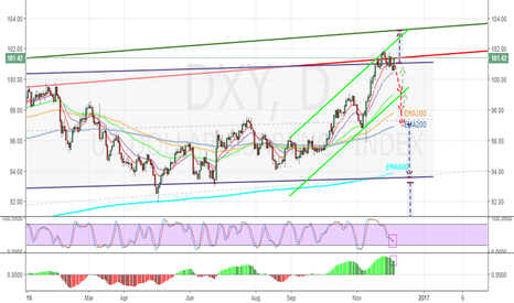 DXY: DXY - Perspectives December 2016 - 2017
