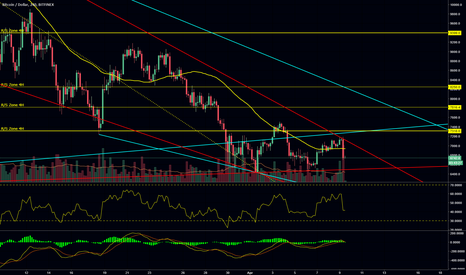 BTCUSD: Bitcoin will drop to 6000