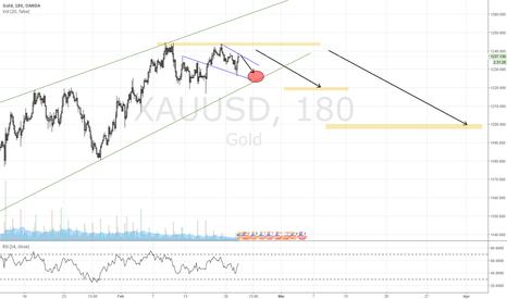 XAUUSD: GOLD drop