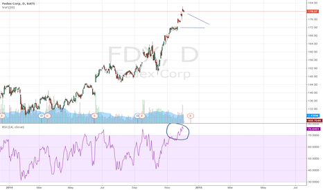 FDX: Fedex Corp: time to correct