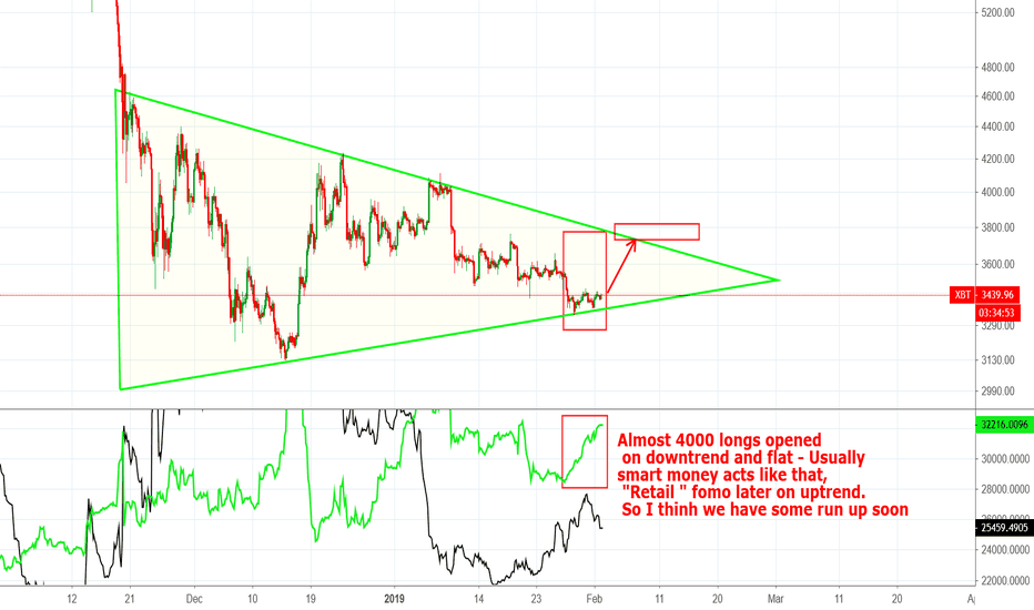 """XBT: Opened """"long"""" possitions are pointing out to some run up"""