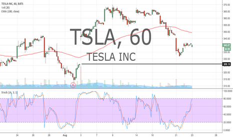 TSLA: Looking for entry