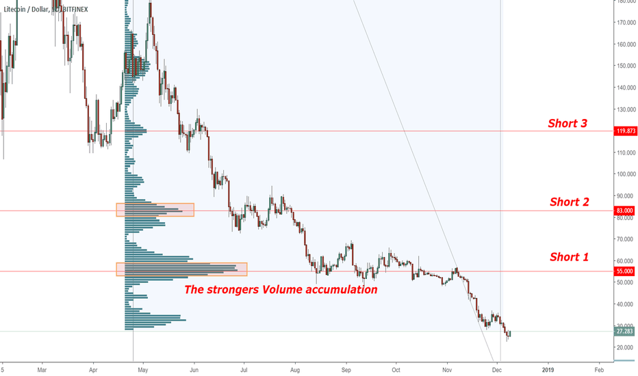 LTCUSD: Litecoin waiting for pullback