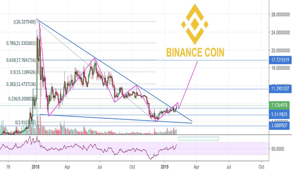 BNBUSD: Next Crypto Bull Run is Near According to BNB Chart