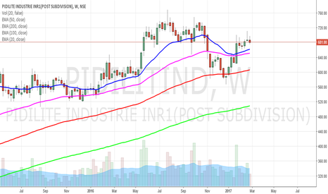 PIDILITIND: PIDILITE INDS bottoms out
