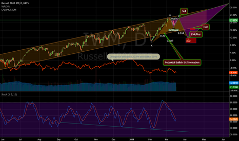 IWM: Emerging Bullish Bat (IWM)