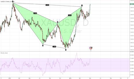 XAUUSD: Failed bearish Shark Pattern, Gold poised to rise further?