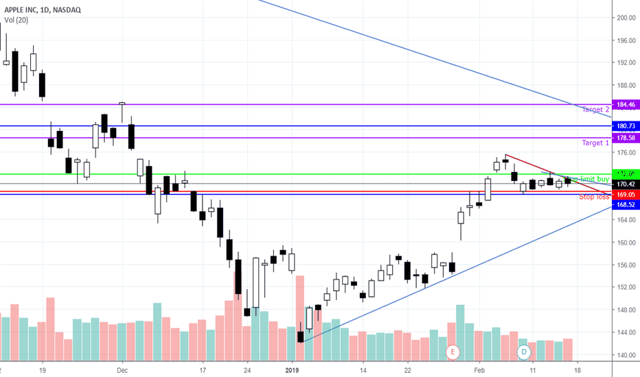 AAPL: AAPL getting ready to move to the upside