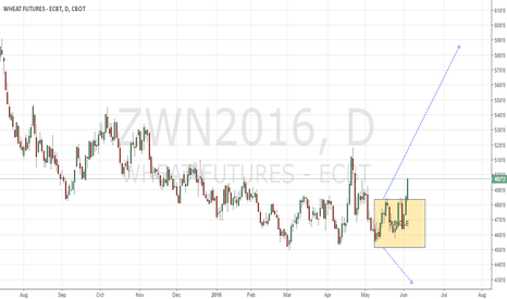 ZWN2016: Wheat CBoT possibly getting ready for a long play