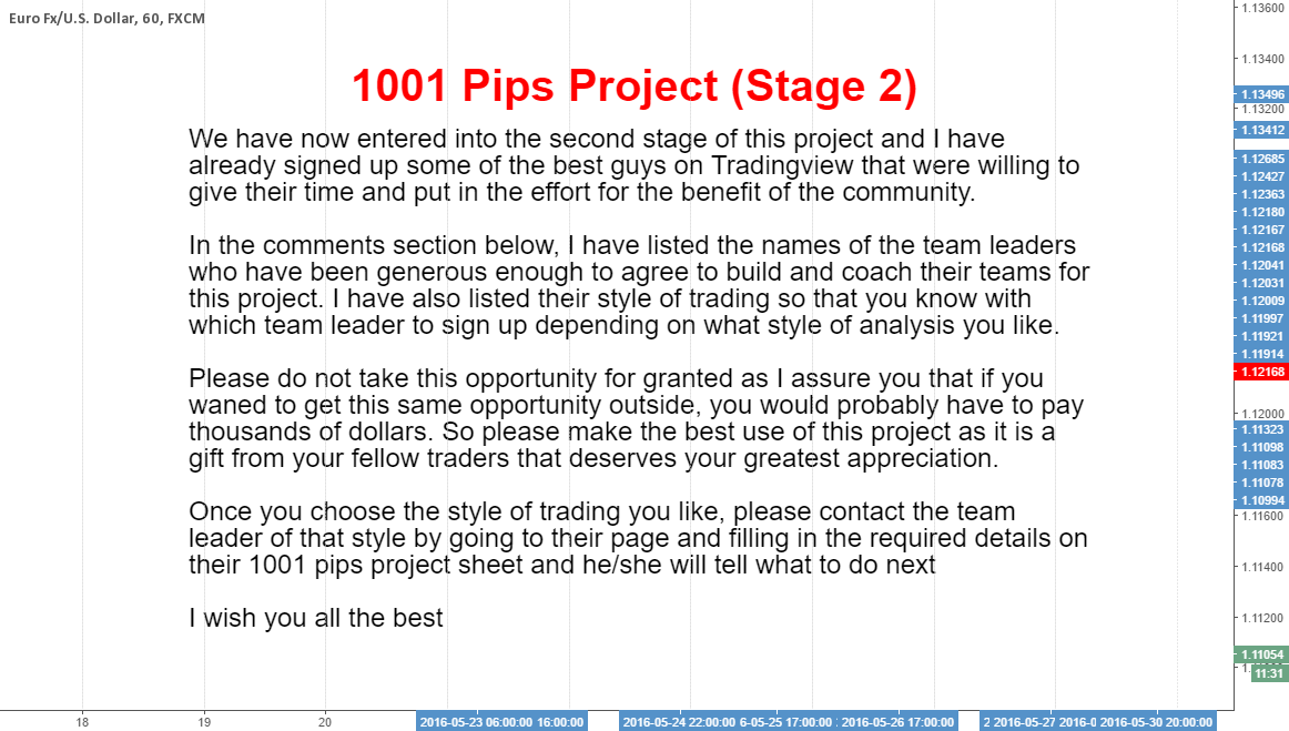 1001 Pips Project (Stage 2)..