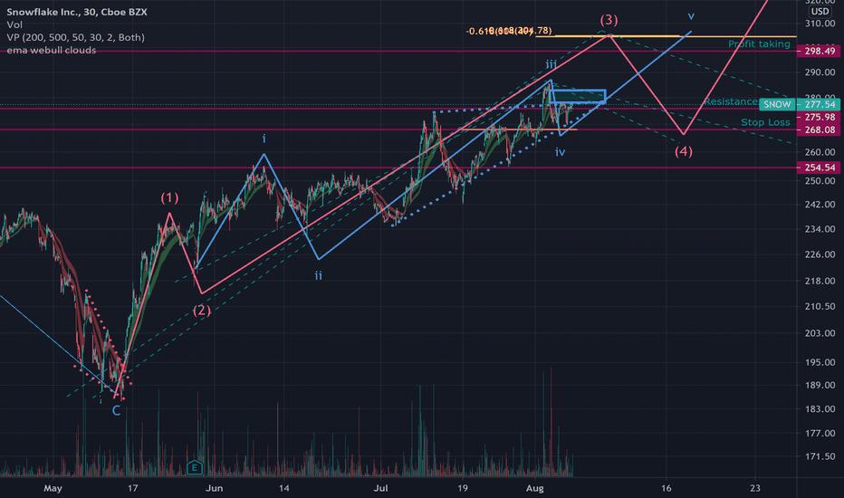 Snow Stock Price And Chart Nyse Snow Tradingview