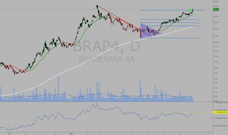 BRAP4: #BRAP4 alvo atingido: +38%