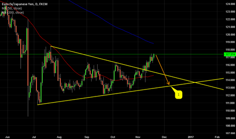 EURJPY: WILL EURJPY MOVE BACK INTO THE RANGE?