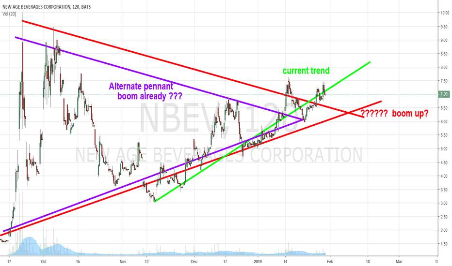 NBEV: Updated chart trend