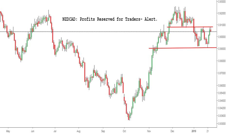 NZDCAD: NZDCAD: Profits Reserved for Traders- Alert.