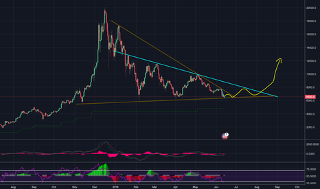 XBTUSD: BTC to hold $6,300 and break to $12,000