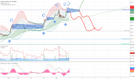 BTCUSD: Failure to launch above 680 due to premature bullish runs