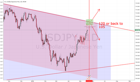USDJPY: Decision Time: 105 or 120 ?
