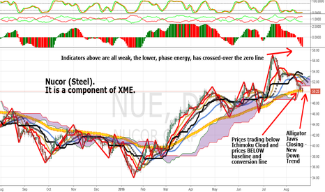 NUE: NUE: The 7th Basic Metals Component In XME That Is Weak