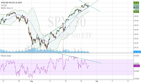 SPY: SPY, time for leg down?