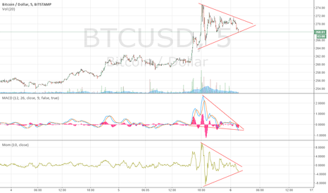 BTCUSD: Losing Momentum, Bears on The Horizon