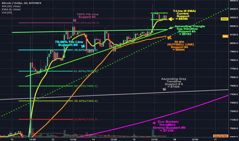 BTCUSD: Bullish breakout of ascending bear pennant as expected