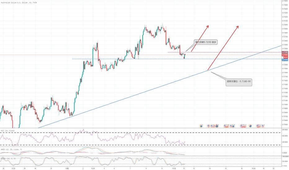 AUDUSD: 澳元保持看涨