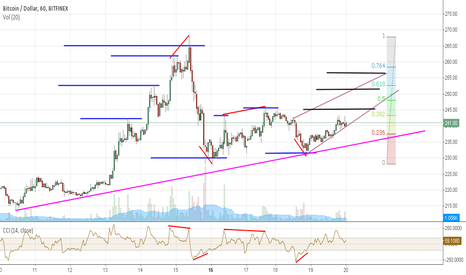 BTCUSD: Bitcoin in retracement