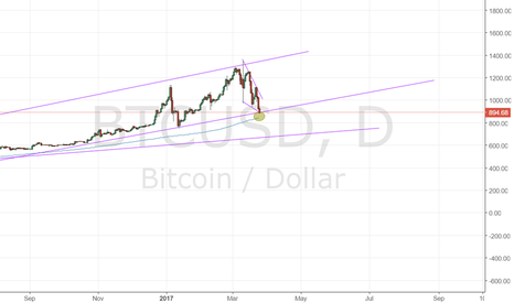 BTCUSD: At strong support