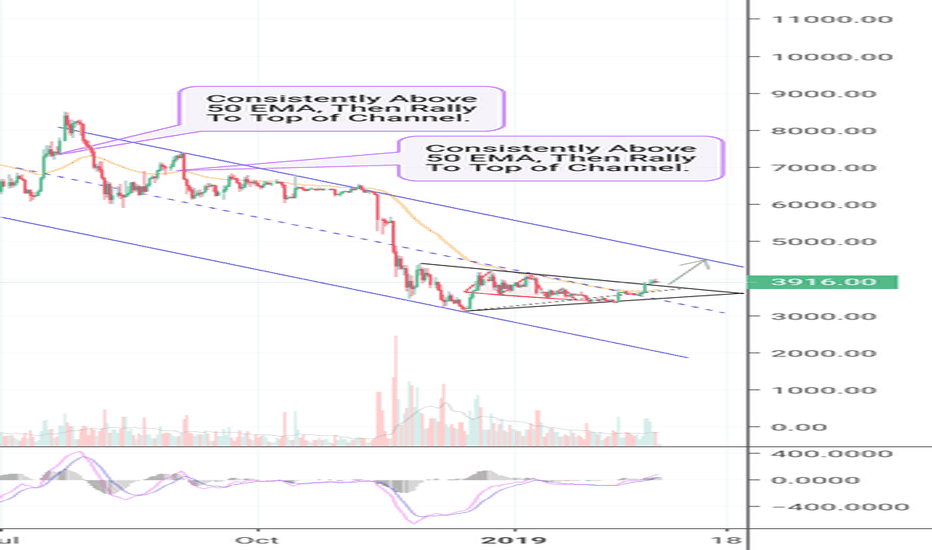 BTCUSD: Bitcoin Remains Above 50 EMA! Here's What it Means! (BTC)
