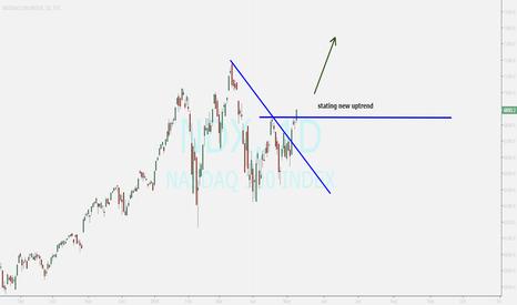 NDX: NASDAQ ...entry to new uptrend
