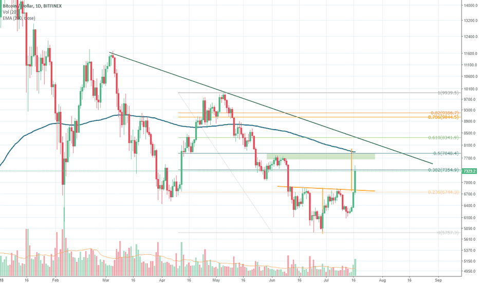 BTCUSD: New Bull Market or Just a Bounce?