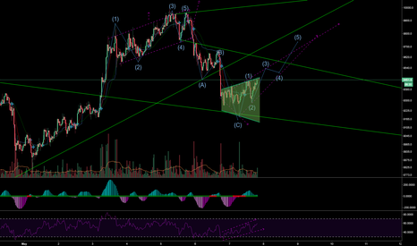 BTCUSD: I've gone BTC surfing and I love it. RIDE THE WAVES!