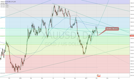XAUUSD: Gold possible long in the daily