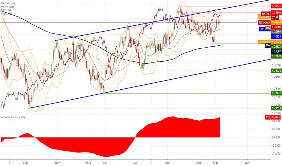 USDCAD: USD/CAD : Vendre l'excès d'optimisme sur le dollar USD