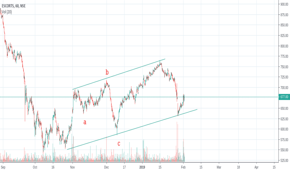 ESCORTS: Is it a leading Diagonal ??
