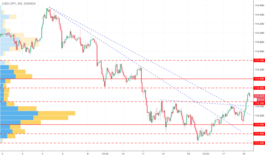USDJPY: ドル円は引き続き上昇基調か