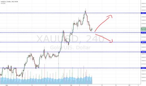 XAUUSD: L'ora della verità sul gold