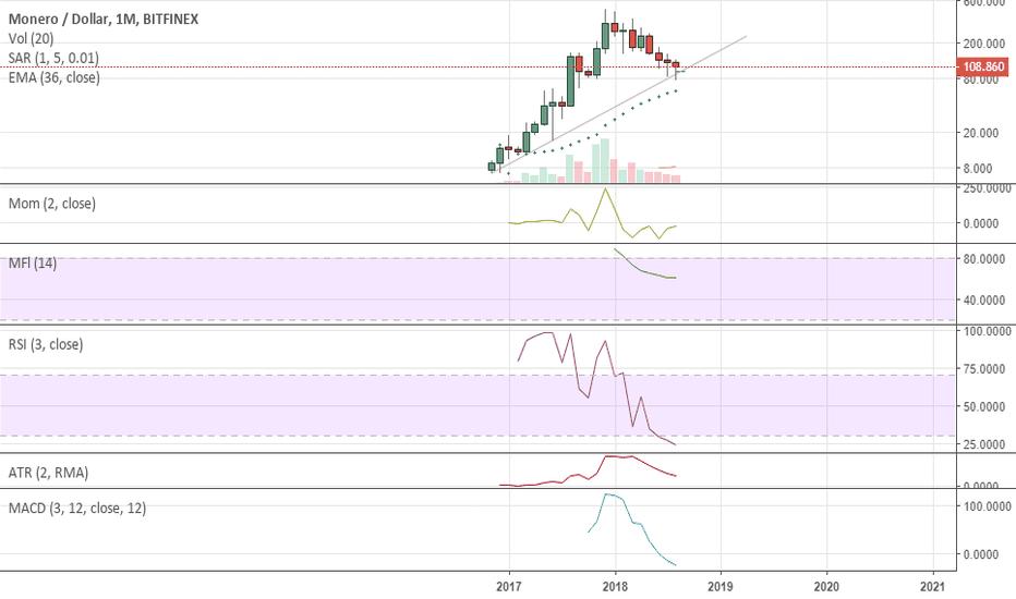 XMRUSD: Monthly Hammer on XMR. Bull is coming back?