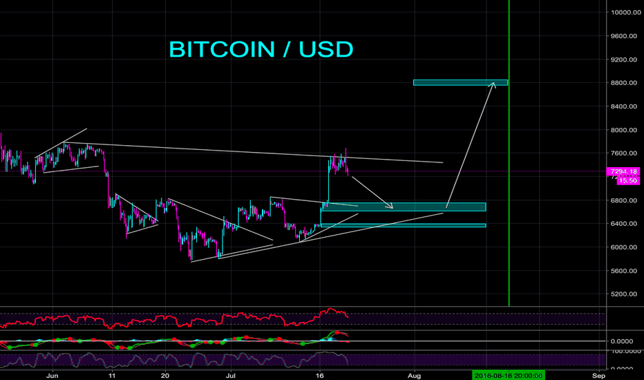 BTCUSD: VIP MEMBER BITCOIN ANALYSIS - CryptoManiac101