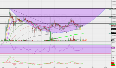XRPUSD: Ripple Possible Rounded Bottom