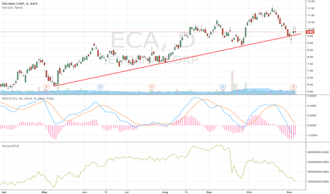 ECA: TARGET 1Price: 11.24    Profit: 14.7%  (Typical rally)