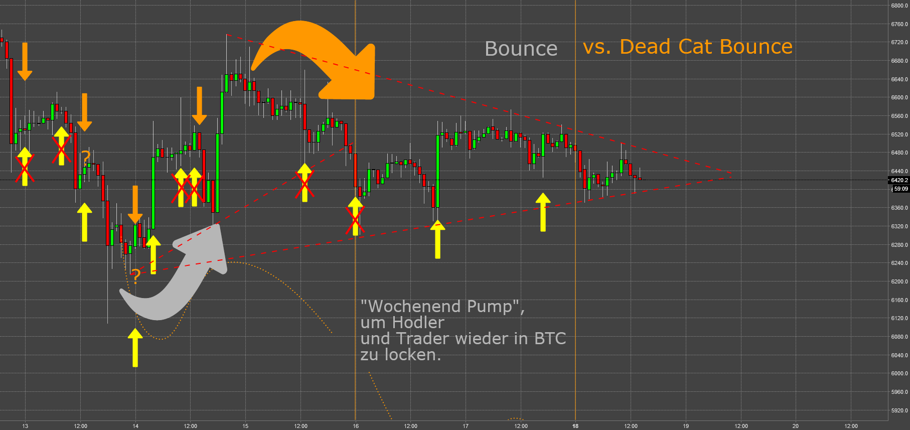 BTC: No Way Out (X) - Dead Cat Bounce an der 6k Marke III