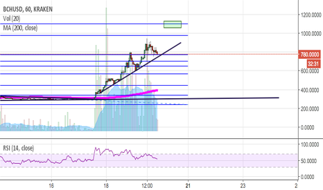 BCHUSD: Update: If this trend line breaks - take profit