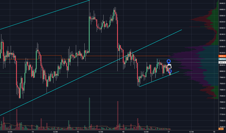 BTCUSD: Printed bearish candle below previous bear candle now on supp.