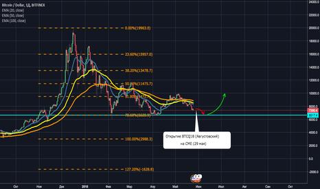 BTCUSD: BTC/USD - Ожидать ли падения до 6500?