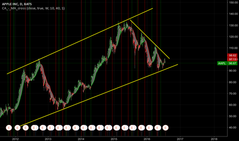AAPL: Now that the wedge has been broken