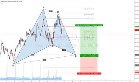 NZDUSD: NZDUSD gartley long