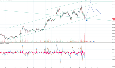 XRPUSD: XRPUSD is at support, if it bounces target is ± $0.285